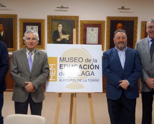 El futuro Museo de la Educación de Alhaurín de la Torre da su primer paso