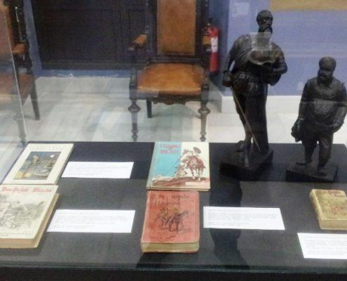 El Museo de la Educación expone en Cabra su valioso material dedicado al Quijote y Cervantes