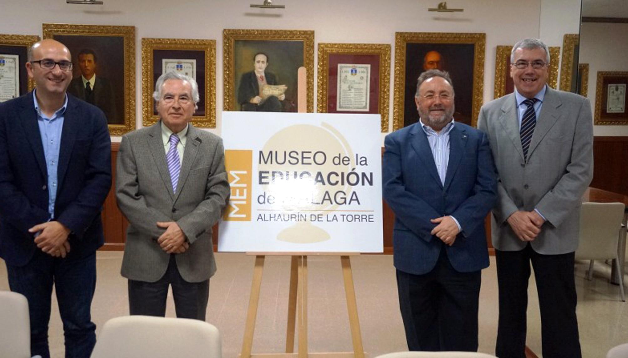 Fallece el profesor Jesús Asensi, donante del Museo de la Educación de Alhaurín de la Torre