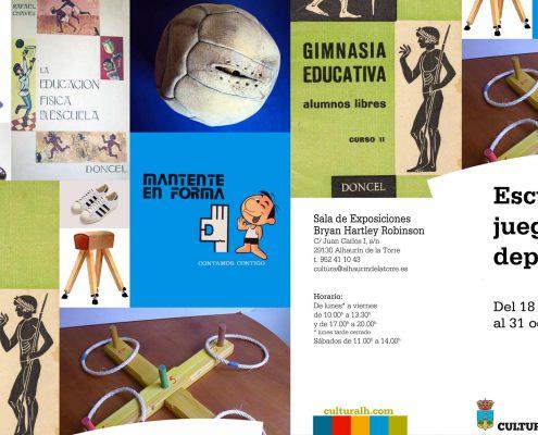 """Actividad física, enseñanza y nostalgia se mezclan en la muestra multidisciplinar """"Escuela, juegos y deporte"""""""