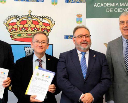 Alhaurín de la Torre y la Academia Malagueña de Ciencias suman fuerzas en el ámbito educativo y cultural