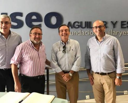 Ayuntamiento de Alhaurín de la Torre y la Fundación Aguilar y Eslava firman convenio de colaboración entre museos