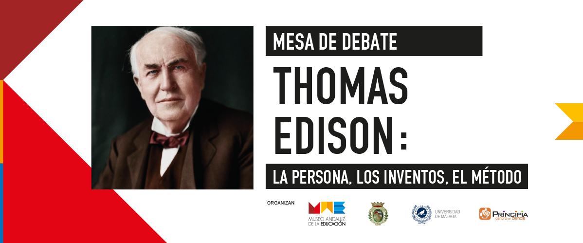 Mesa de Debate Thomas Edison