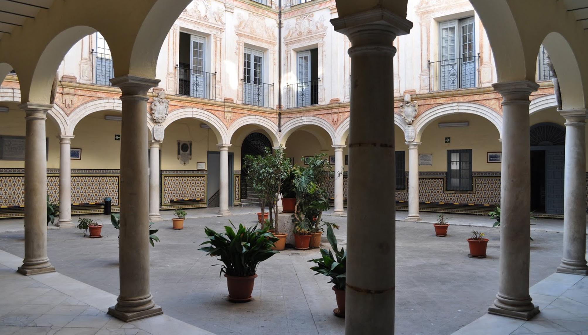 Patio de Columnas IES Vicente Espinel (Málaga)
