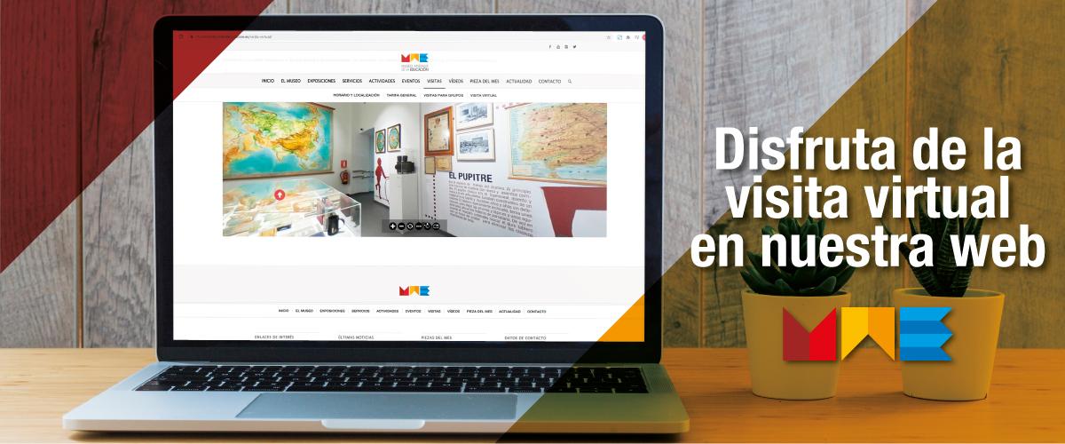 Disfruta de la visita virtual en nuestra web