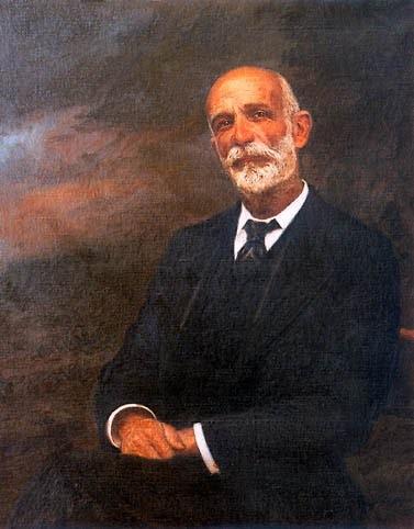 Retrato de Francisco Giner de los Ríos