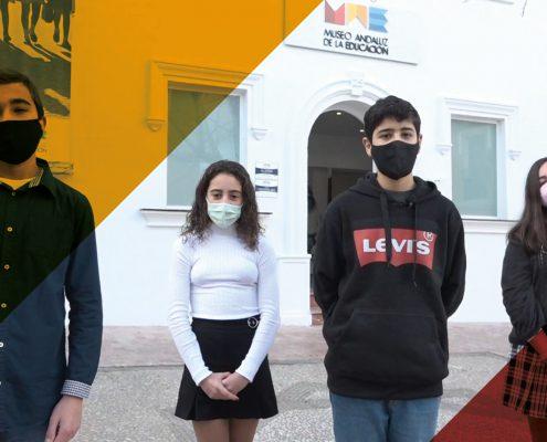 Gran repercusión del vídeo de Manuel, David, Lucía y Ana Victoria mostrando el MAE