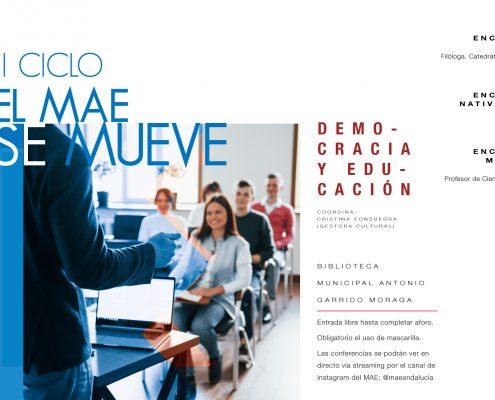 Vuelve una nueva edición del ciclo 'El MAE se mueve'