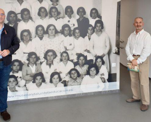 Visita de Francisco José Rodríguez Marín
