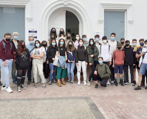 Visita IES Capellanía