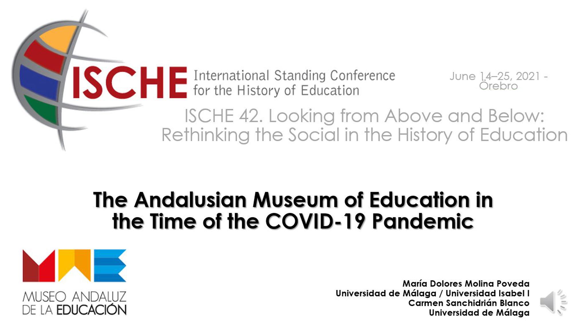 El MAE participa en el congreso anual de la ISCHE