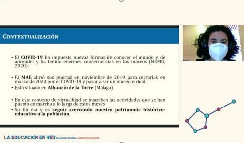El MAE participa en el XVII Congreso Nacional de Pedagogía y IX Iberoamericano de Pedagogía