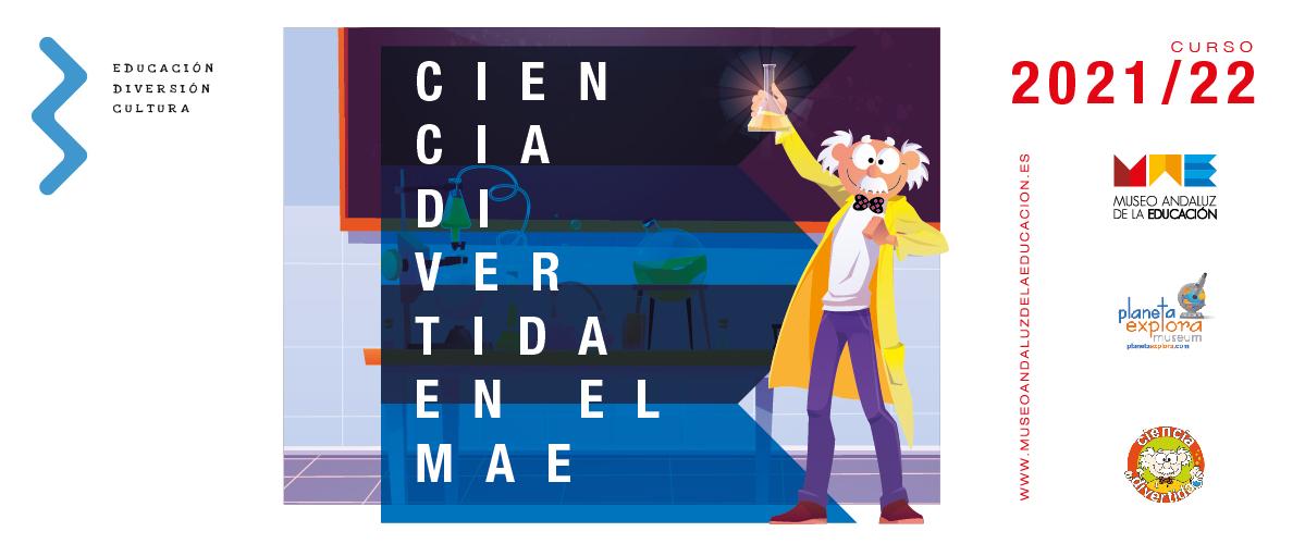 Visita escolar de Ciencia Divertida en el MAE