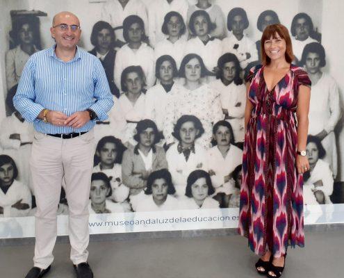 Visita de Ruth Sarabia